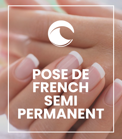 Pose de french semi permanent